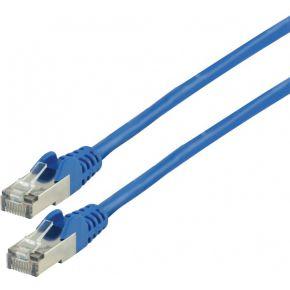 FTP CAT 6 netwerkkabel 5,00 m blauw