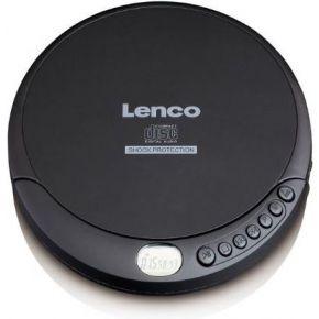 Lenco CD-200 Discman CD, CD-RW, MP3 Accu laadfunctie Zwart