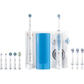 Oral-B mondverzorging center, OxyJet-monddouche + Oral-B Smart 5000