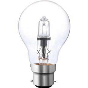 Image of Halogeenlamp B22 A55 53 W 850 Lm 2800 K