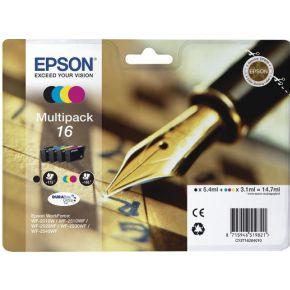 INKCARTRIDGE EPSON T162640 ZWART 3 KLEUREN