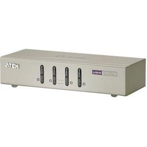 4-poorts USB KVM + audio