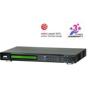 4x4 HDMI A-V Matrix Switch + Scaler