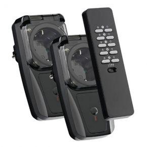 Image of Aan Uit Remote + 2 Stekkerdoos