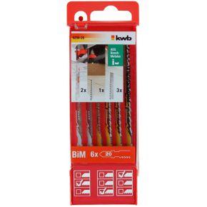Image of KWB Combipakket zaagmesjes hout/metaal