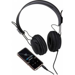 Intenso Video Scooter MP3-speler, MP4-speler, 8 GB, Zwart