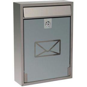 Image of Brievenbus - Antwerpen - Inox