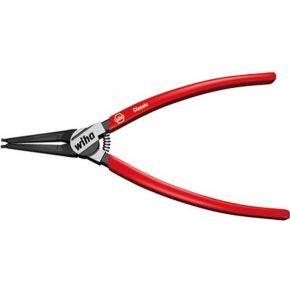 Image of Precisie-borgveertang Geschikt voor borgringen Buitenringen 10-25 mm Puntvorm Recht Wiha 26790