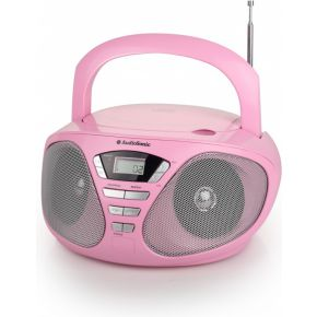 Image of Audio Stereo Radio CD-1567 pink - -