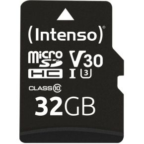 Intenso Professional 32 GB microSDHC-kaart Class 10, UHS-I incl. SD-adapter
