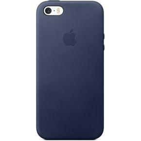 APPLE cuir bleu nuit iPhone 5S-SE