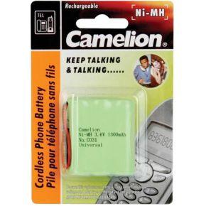 Image of Nimh Batterij Voor Draadloze Telefoon 3.6v-1300mah (universele Plug)