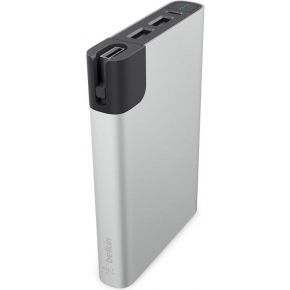Belkin MIXIT RockStar Power Pack silber 10000mAh Light.-Micro-Kab