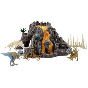 Image of Schleich - vulkaan met t-rex