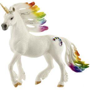 Image of Schleich - regenboog eenhoorn, hengst