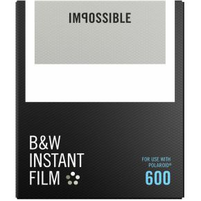 Image of Impossible B&W Film voor 600