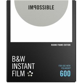 Image of Impossible B&W Film voor 600 Round Frame
