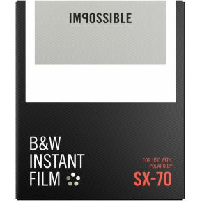 Image of Impossible B&W Film voor SX-70
