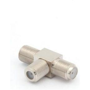 Image of Adapter F Vrouwelijk Naar 2 X F Vrouwelijk - (10 st.)