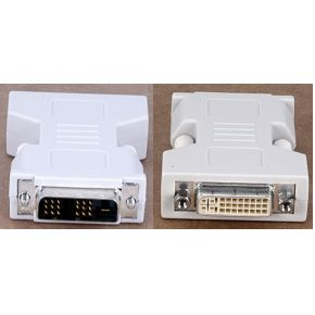 Avocent DVI-I -> DVI-D adapter