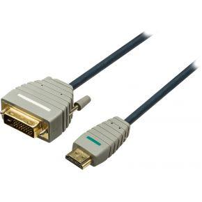 Dvi Naar Hoge Snelheids Hdmi Kabel 5.0 M