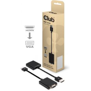 CLUB3D HDMI to VGA Adapter Cable