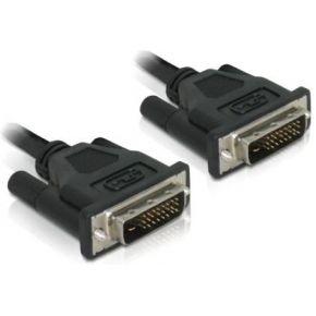 Image of DeLOCK DVI 24+1 Cable 0.5m male/male