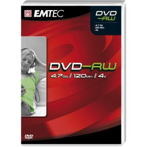 Image of Emtec DVD-RW 4,7GB 4X VB 5P