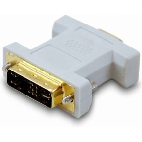 Equip DVI adapter digital --> VGA analogue, 12+5 -HDB 15, M-F (118945)