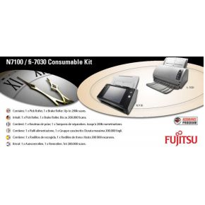 Fujitsu For N7100 includes 1 x Break Roller and1 X Pick Roller ( for total max (CON-3706-001A)