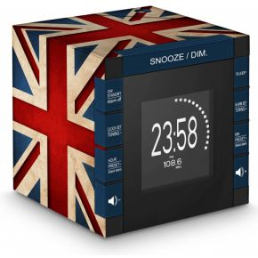 Radio Alarm Clock Projector Union Jack