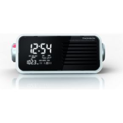 Image of Bigben Interactive CP301T Klok Digitaal Wit radio