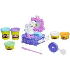 Image of Hasbro Play-Doh My Little Pony Rarity Style And Spin Set