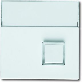 Image of 1571 CN-84 - Cover plate for switch/push button white 1571 CN-84