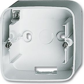 Image of 1701-214 - Surface mounted housing 1-gang white 1701-214