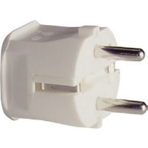 Image of 1116110 - Schuko plug white 1116110