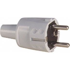 Image of 1418060 - Schuko plug grey 1418060