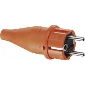 Image of 1419170 - Schuko plug orange 1419170