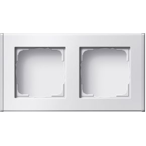 Image of 136227 - Surface mounted housing 2-gang white 136227