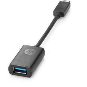 HP USB-C to USB 3.0 Adapter (geschikt voor alle devices met USB type C o.a. Pro Tablet 608) N2Z63AA