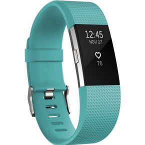Fitbit Charge 2 Teal-Silver L