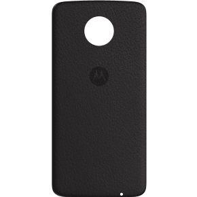 Motorola Moto Z Back Cover Black Leather (ASMCAPBKLREU)