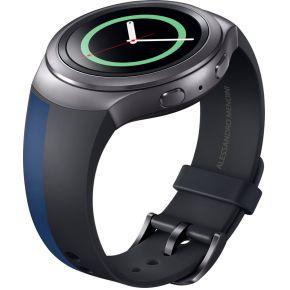 Image of Samsung design horlogeband - zwart/blauw - voor Samsung Gala