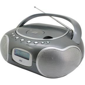 Image of DAB+ CD-radio SoundMaster SCD4200TI AUX, CD, DAB+, FM, USB Titaan