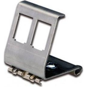 ASSMANN Electronic DIN-Rail adp f 2x Keystone Mod (AN-25185)