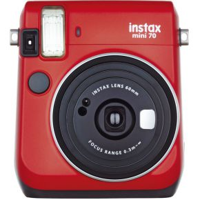 Fujifilm Instax Mini 70 Red instant camera