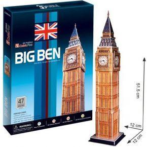 Cubic Fun 3D Puzzel Big Ben 47-delig