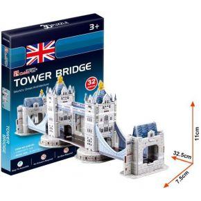 Cubic Fun 3D Puzzel Tower Bridge 32-delig