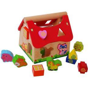 Image of Houten Insteekbox Boerderij