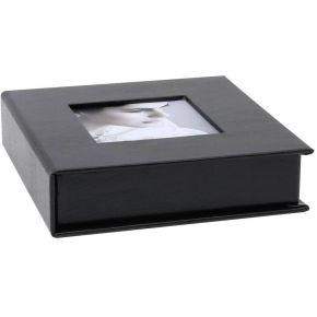 Image of Deknudt S66DJ3 zwart 8x8 opbergdoos USB Stick